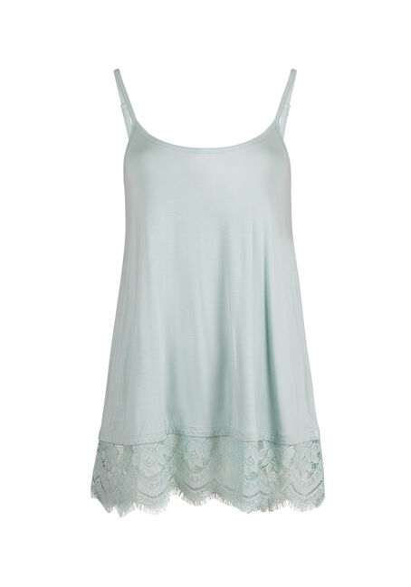 Ladies' Lace Trim Tunic Tank