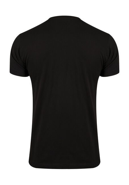 Men's MineCraft Medallion Tee, BLACK, hi-res