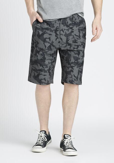 Men's Camo Hybrid Short