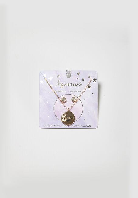 Women's Aquarius Necklace Set