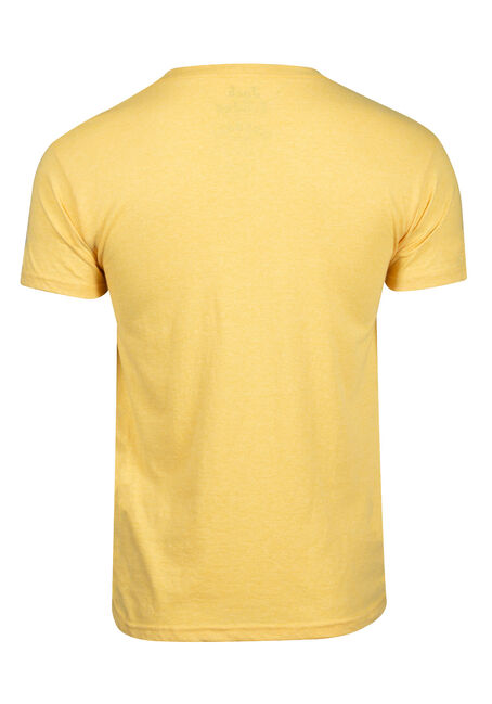 Men's Fireball Tee, HEATHERYELLOW, hi-res