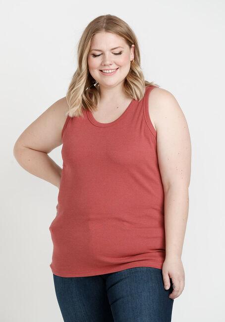 Women's Rib Knit Tank Top