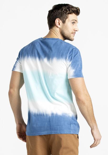Men's Tie-Dye Stripe Tee, BLUE, hi-res