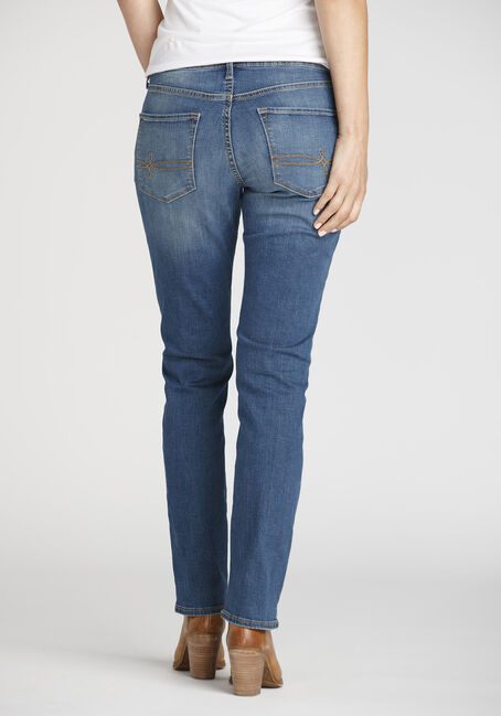 Ladies' Slim Jeans, MEDIUM WASH, hi-res