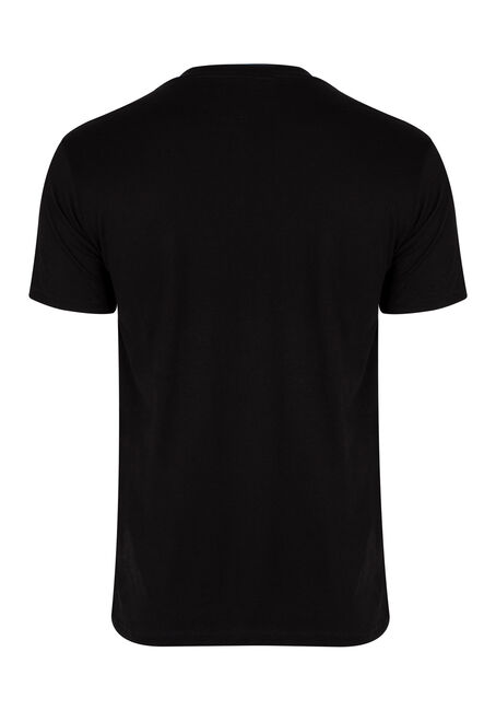 Men's Snowmobiling Tee, BLACK, hi-res