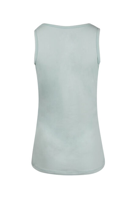 Ladies' V-neck Tank, COOL MINT, hi-res