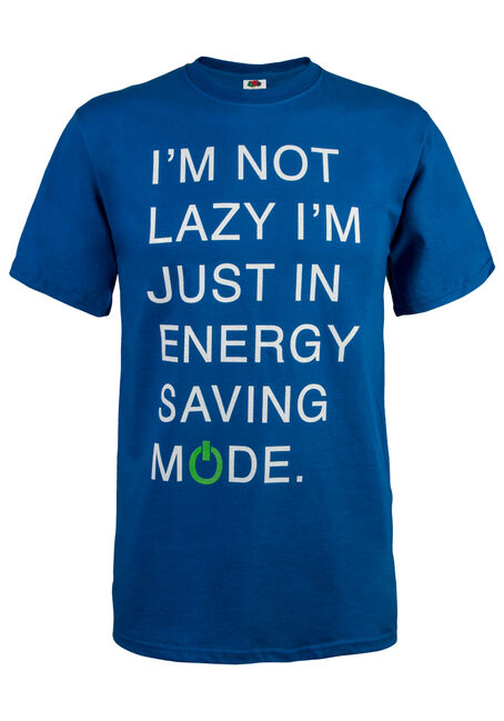 Men's Energy Saving Mode Tee