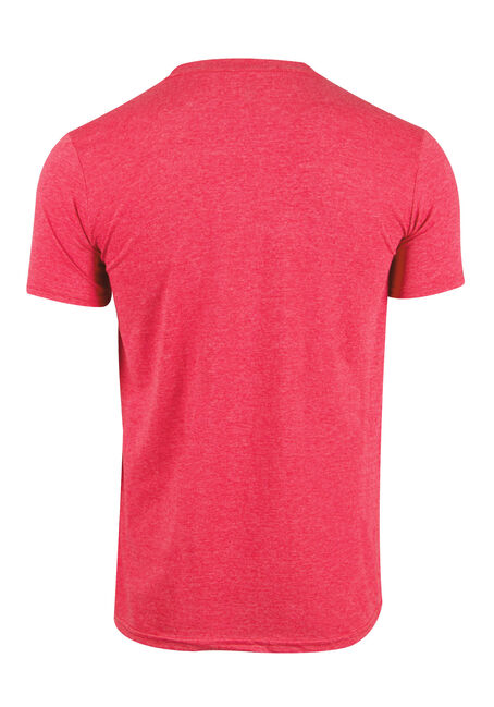 Men's Flip Cup Tee, HEATHER RED, hi-res
