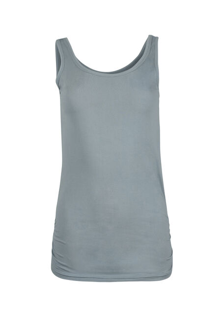 Women's Super Soft Ruched Side Tank