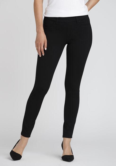 Women's Pull On Skinny Pants, BLACK, hi-res