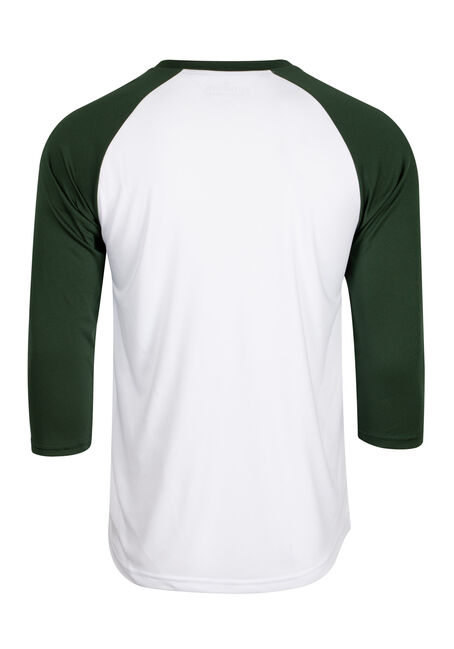 Men's Concert Baseball Tee, KELLY GREEN, hi-res