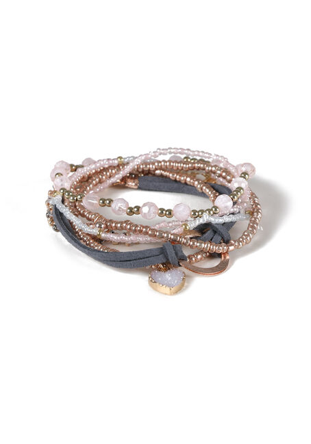 Ladies' 7 Pair Bracelet Set