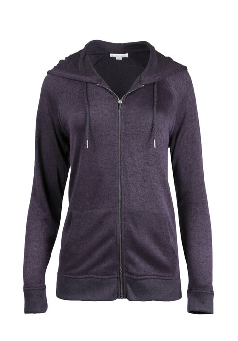 Ladies' Super Soft Hoodie, SHADOW PURPLE, hi-res