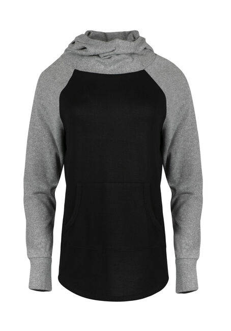 Ladies' Super Soft Baseball Hoodie