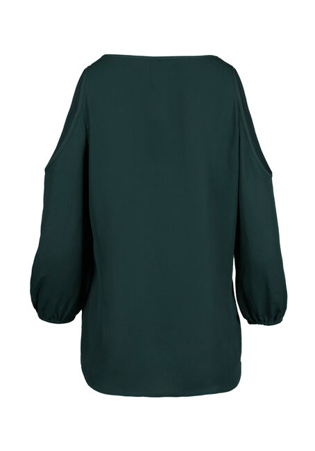 Ladies' Cold Shoulder Top, JASPER, hi-res
