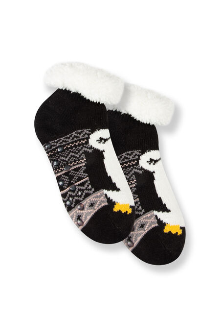 Women's Penguin Slipper Socks
