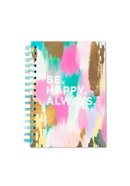 Be Happy Always Notebook