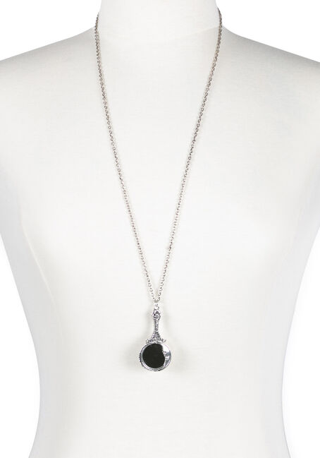 Ladies' Moon Mirror Necklace