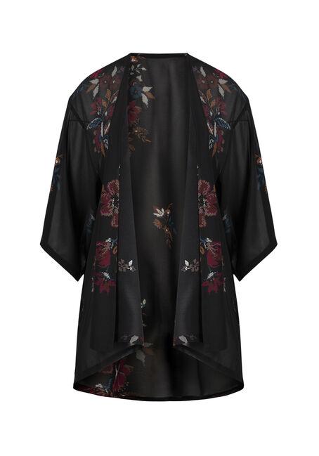 Ladies' Floral Kimono
