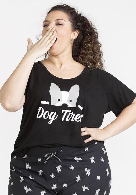 Women's Puppy Scoop Neck Tee