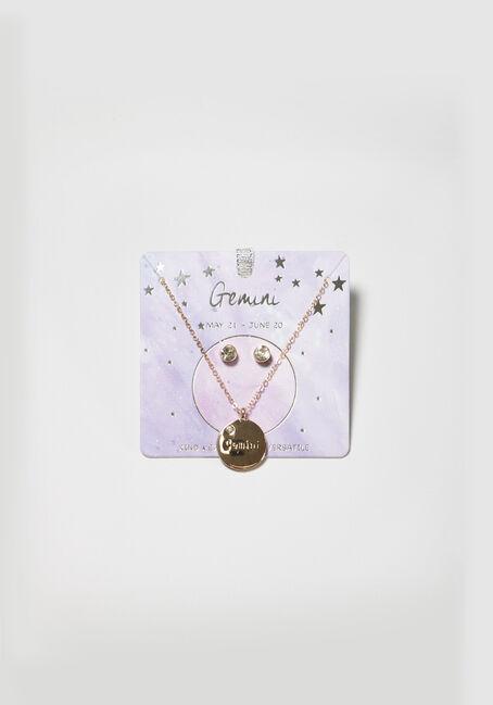 Women's Gemini Necklace Set