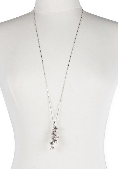 Ladies' Waterfall Flower Charm Necklace