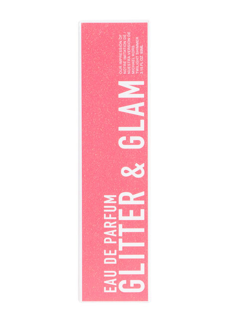 Women's Glitter & Glam Perfume, CORAL, hi-res
