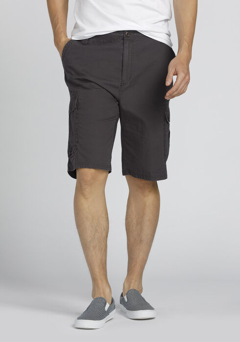 Men's Cargo Short, CHARCOAL, hi-res