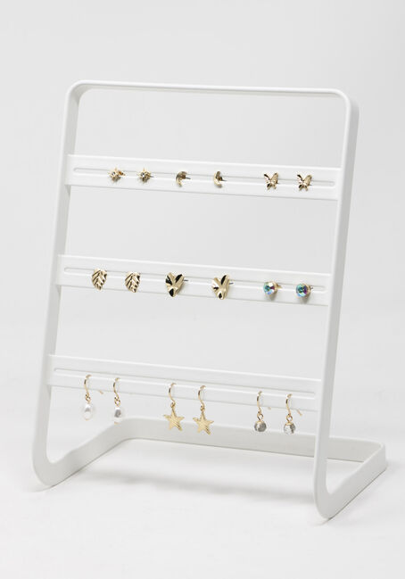 Studs and Drop Earring Set