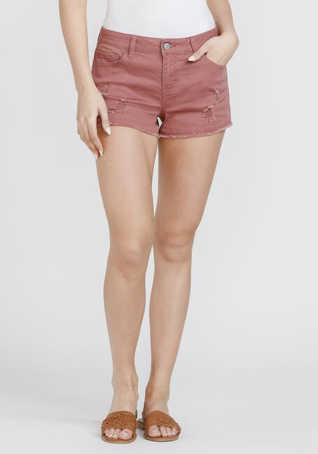 Women's Frayed Hem Not-So-Short Short