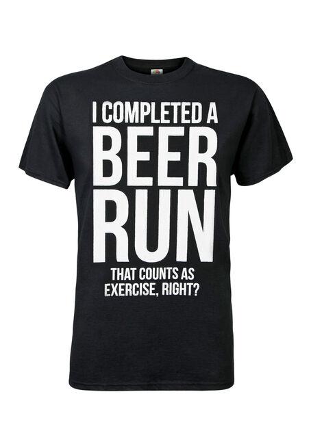 Men's Beer Runs Tee