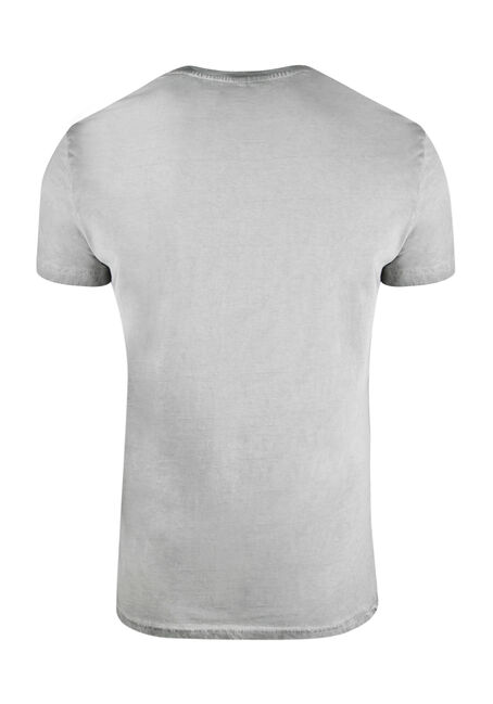 Men's Logo Graphic Tee, LIGHT GREY, hi-res