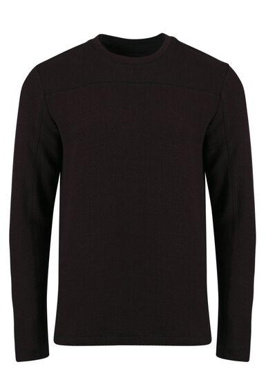 Men's Crew Neck Sweater, FIG, hi-res