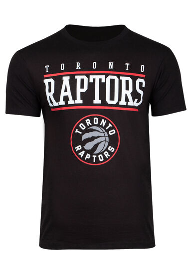 Men's Toronto Raptors Tee, BLACK, hi-res