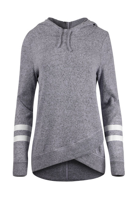 Ladies' Tulip Hem Football Hoodie