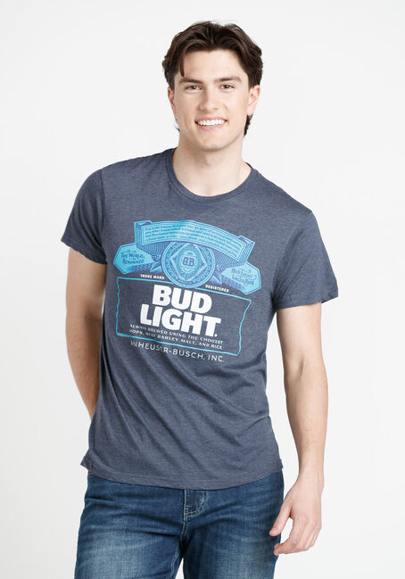 Men's Bud Light Tee