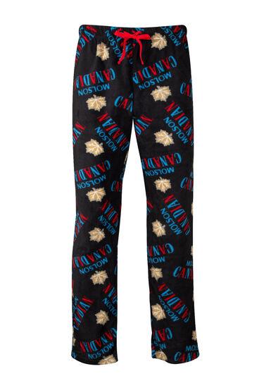 Men's Molson Canadian Sleep Pant, BLACK, hi-res