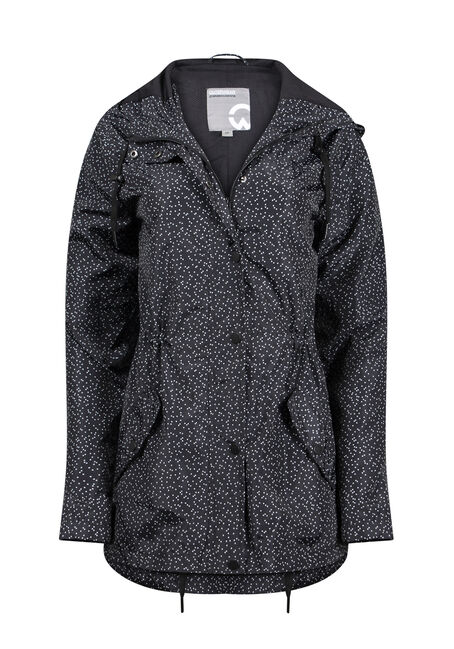 Women's Speckled Anorak Jacket