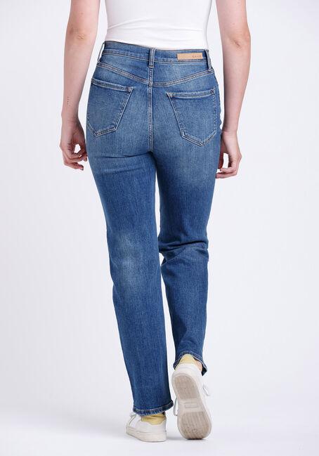 Women's Super High Rise Dad Jeans, MEDIUM WASH, hi-res