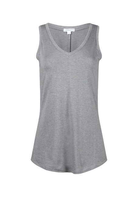 Women's Relaxed Fit V-Neck Tank