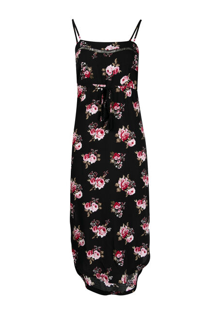 Women's High-Low Midi Dress