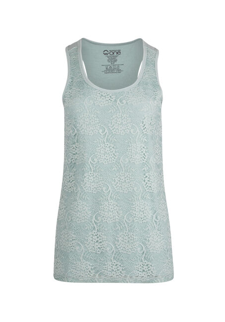 Ladies' Lace Front Tank