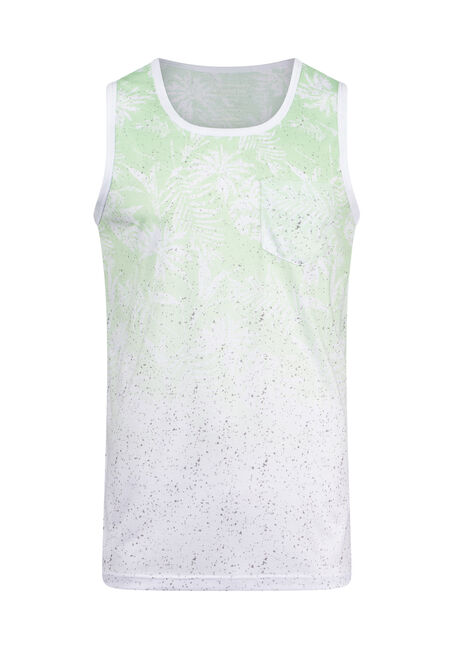 Men's Vintage Ombre Palm Tank