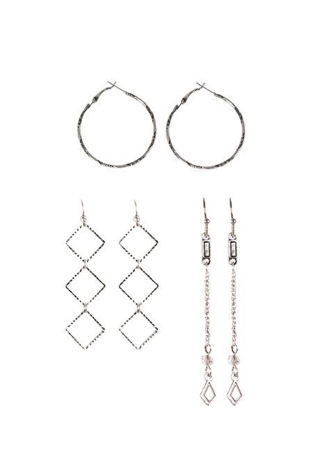 Ladies' Trio Earrings