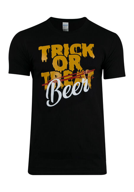 Men's Trick Or Beer Tee