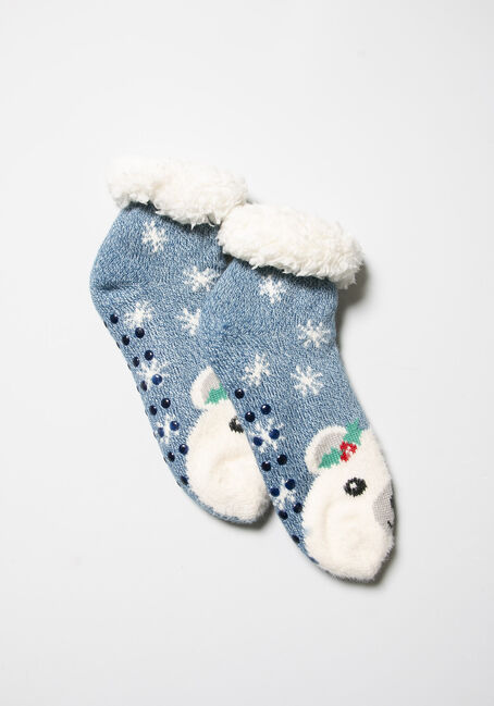 Women's Festive Slipper Socks