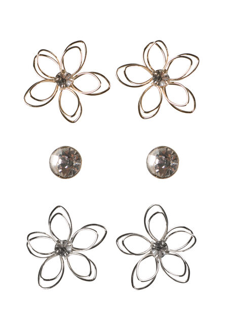 Ladies' Daisy Earring Set