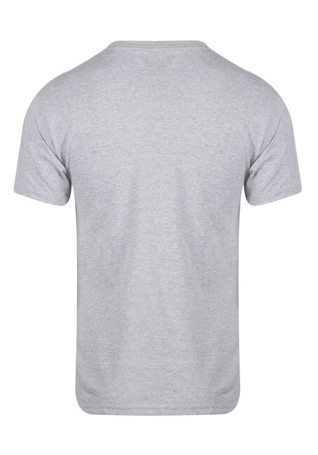 Men's Sleeves Stayed On Tee, LIGHT GREY, hi-res