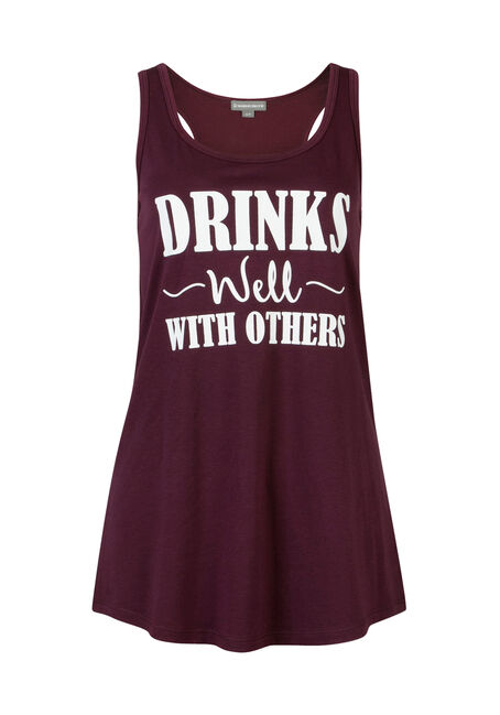 Ladies' Drinks Well With Others Tank