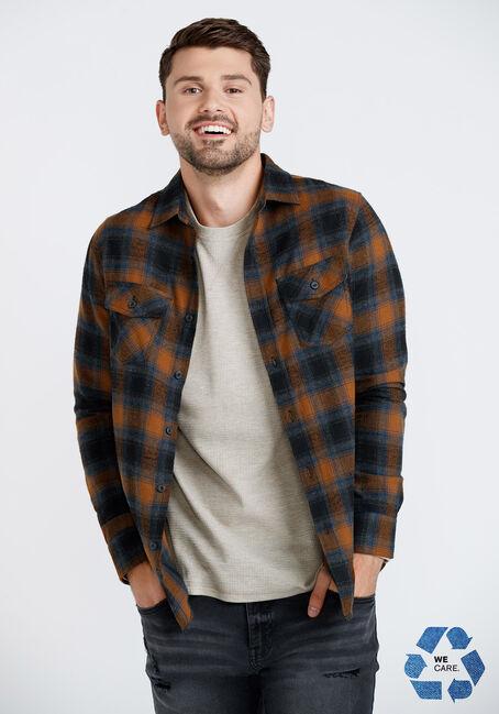 Men's Plaid Flannel Shirt